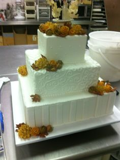 wedding cake popcorn popcorn cake cakes my has made popcorn 23519