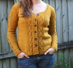 Ravelry: Tullamore Cardigan pattern by Emily Ringelman