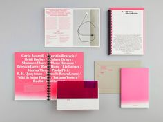 "The colour PINK is ""in"" this year for women's art. The third edition of Spazio -1 is devoted to the women artists in the Giancarlo and Danna Olgiati Collection. At the very heart of the thirty works produced by women is a special space reserved for Carla Accardi (1924-2014), including some of her most important creations. The campaign included invitation, poster, catalog, exhibition design, TV commercials.   Related projects"