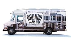Brunch Box vehicle wrap | Designer: Michael Jeter - http://thewellarmed.com