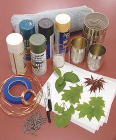 How to Make Garden Lanterns - Fine Gardening Article