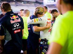 Sebastian Vettel & Heikki Huovinen
