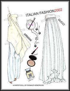 ITALIAN FASHION 2002 Armani and Gucci by Donald Hendricks  2 of 2