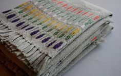 Weave-Away: veggie towels