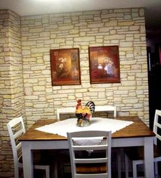 Μετατρέψτε έναν απλό τοίχο σε πέτρινο με τη βοήθεια στόκου! | Toftiaxa.gr - Φτιάξτο μόνος σου - Κατασκευές DIY - Do it yourself