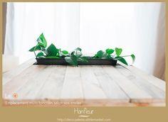 Le bois et le végétal sont présents simultanément dans la nature alors j&#39...  #alors #nature #presents #simultanement #vegetal Coffee Table With Storage, Table Storage, Deco, Nature, Plants, Tables, Handmade Gifts, Herbs, Mesas