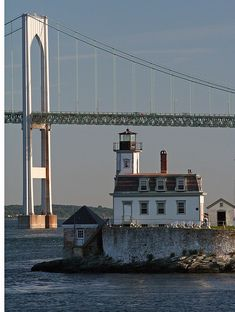 Rose Island Light RI   #VisitRhodeIsland  #lighthouses