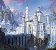 ArtStation - white castle, Ji Young Joo