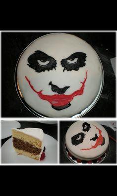 1000 Ideas About Joker Cake On Pinterest Batman Cakes