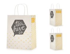 Tea Hive Co. Branding & Marketing Materials on Behance
