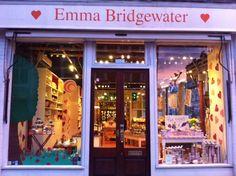 Emma Bridgewater Easter display in Fulham...