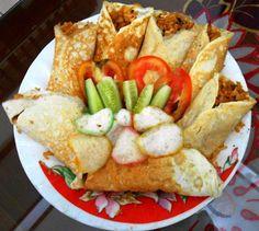 Nasi goreng selimut, yummy :)