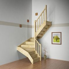 Take a look at this remarkable spiral staircase - what an innovative concept Spiral Staircase Plan, Small Space Staircase, Staircase Design Modern, Space Saving Staircase, Narrow Staircase, House Staircase, Attic Staircase, Stairs In Small Spaces, Garage Stairs