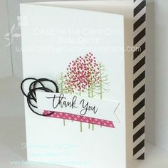handmade by Julia Quinn - Independent Stampin' Up! Demonstrator: Stampin' Up! CASEing the Catty #92 Everyday Occasions