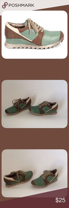 Brown/Mint Colored Sneakers These are Brown and Mint colored sneakers. They are New and have Never been Worn!! To keep Shipping Low I will ship Without the Box!! Db Dk Fashion Shoes Sneakers