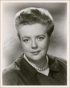 Frances Bavier was born in New York City on December 14, 1902.