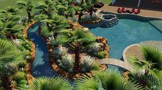 backyard amenities uses pool studio