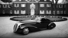 réinterprétation de la Rolls Royce Jonckheere Aerodynamic Coupe © Ugur Sahin