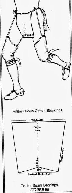 Organic Flashdance Leggings! Here's how to make leggings like the Native Americans did.
