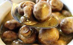 Crock-pot Parmesan Ranch Mushrooms