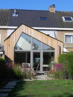 Brugge, West-Vlaanderen, Eengezinswoning koppelbouw - rijwoning, Renovatie en uitbreiding, Houtskeletbouw, Bio-ecologisch, Budgetvriendelijk, Compact, Energiezuinig gebouw