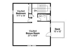 Traditional Garage Plan 41149 Level Two
