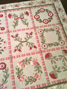 american patchwork & quilting issue quilt on cover Longarm Quilting, Free Motion Quilting, Quilting Projects, Quilting Designs, Patchwork Quilting, Hand Applique, Applique Patterns, Embroidery Applique, Quilt Patterns