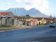this is a township of Gugulethu were both Mr and Mrs Mangaliso used to live Le Cap, Married Woman, Cape Town, Luxury Homes, Africa, Public, Mansions, Park, House Styles