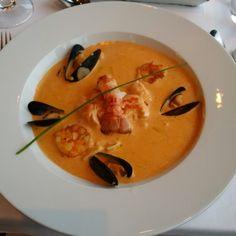 Fish soup Blom restaurant