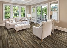Get inspired by beautiful examples of our luxury vinyl flooring, learn about design trends, how to transform a room and more from flooring experts at COREtec. Coretec Flooring, Plank Tile Flooring, Vinyl Flooring Kitchen, Flooring Store, Luxury Vinyl Flooring, Luxury Vinyl Tile, Luxury Vinyl Plank, Fresco, Driftwood Flooring