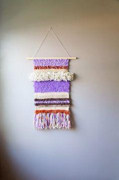 Modern Tapestry / Boho Wall Hanging / Fringe by LemonCucullu, $150.00