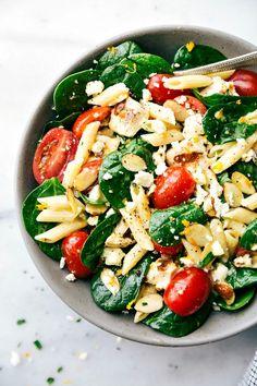 Healthy Chicken Pasta Salad