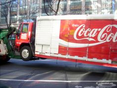Coca-Cola delivery truck towed from Empire State Building onto Broadway