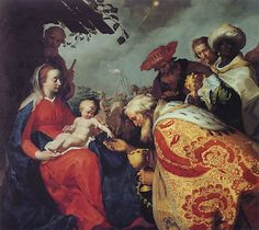 The adoration of the Magi - Abraham Bloemaert, Adorazione dei Magi, Centraal Museum, Utrecht Caravaggio, Utrecht, Epiphany Of The Lord, Oil On Canvas, Canvas Art, Harper's Magazine, Google Art Project, Dutch Golden Age, Bible Pictures