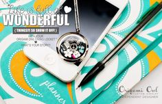 Click to shop.  Have questions about ordering your personalized locket, send me an email at PavliesCharms@aol.com  Be sure to like my FB page for updates on new products!  https://www.facebook.com/PavliesCharms.OrigamiOwl?ref=hl