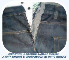 Come allargare il girovita di un jeans