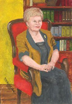 Miniatury 1 - Galeria obrazów Felicji Kozielskiej Miniature Portraits, Painting, Painting Art, Paintings, Painted Canvas, Drawings