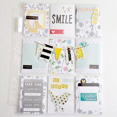 Smile Pocket Letter by WendyBird Designs