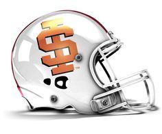 Idaho State Football Helmet | NCAA Football Helmets on Pinterest | Football Helmets, Helmets and ...