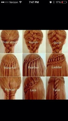 Different Braids Try Em! *like & follow?*