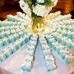White Wedding Favor Candy Box With Purple Ribbon And Purple , Silver Flowers , DIY Party Paper Favor Box , Candy Box http://world.taobao.com/item/531755826136.htm