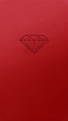Wallpapers iPhone 5S diamond red