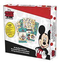 Mickey  Friends - My Big Box of Stickers