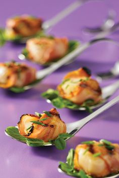 Pancetta-Wrapped Scallops #food #yummy For guide + advice on healthy lifestyle, visit www.thatdiary.com