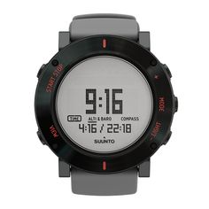The Suunto Core Gray Crush is retro and futuristic all at the same time. It takes the coolest elements of both, the retro analog look of the numbers mixed with