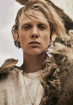 Annely Bouma Is Desert Goddess For Telegraph Magazine May2015