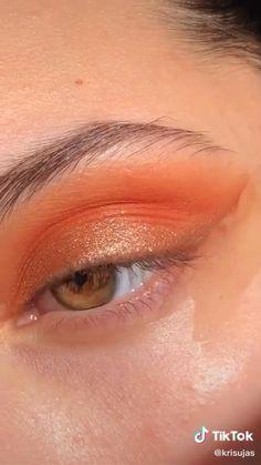 Makeup Eye Looks, Eye Makeup Steps, Red Lip Makeup, Contour Makeup, Cute Makeup, Eyeshadow Looks, Skin Makeup, Makeup Art, Eyeliner Makeup