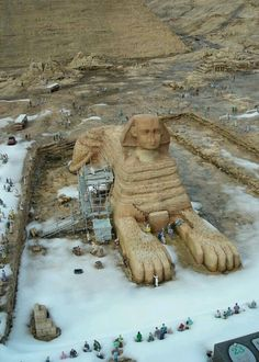 Great Sphinx of Giza, beautiful and mysterious