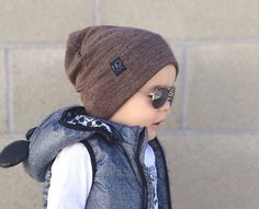 See more. Brown Slouchy Beanie   Winter Beanies   Hipster Beanies by NOXXaz  Toddler Boy Fashion 7065ce4e9084