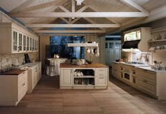 Kitchen in the style of Provence. 30 photos ideas.
